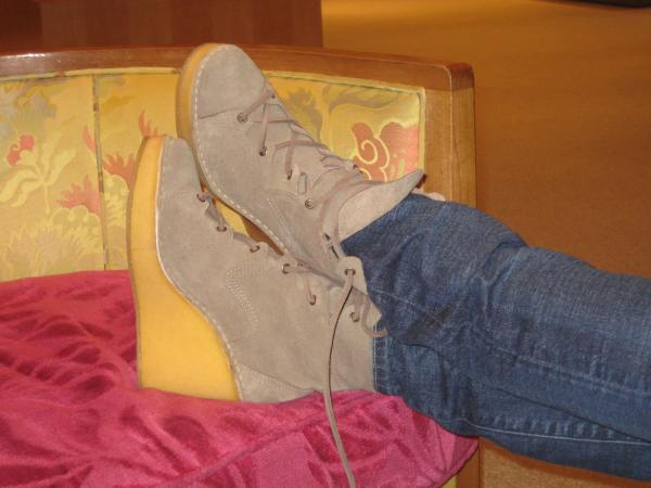 Pierre Hardy Crepe Sole Boots