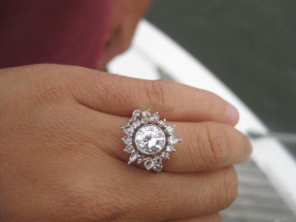 Sharon Khazzam diamond ring
