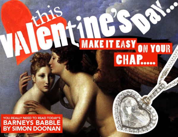 This Valentine's Day... Barneys Babble