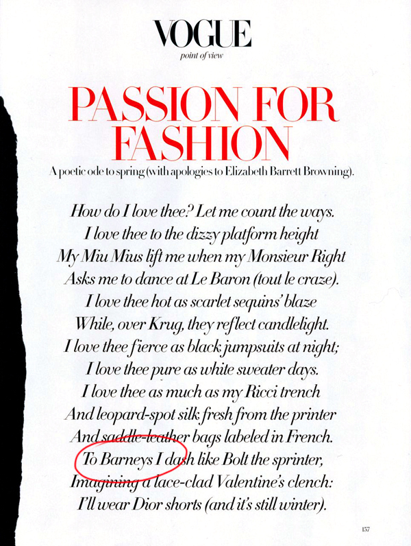 Passion for Fashion - Vogue