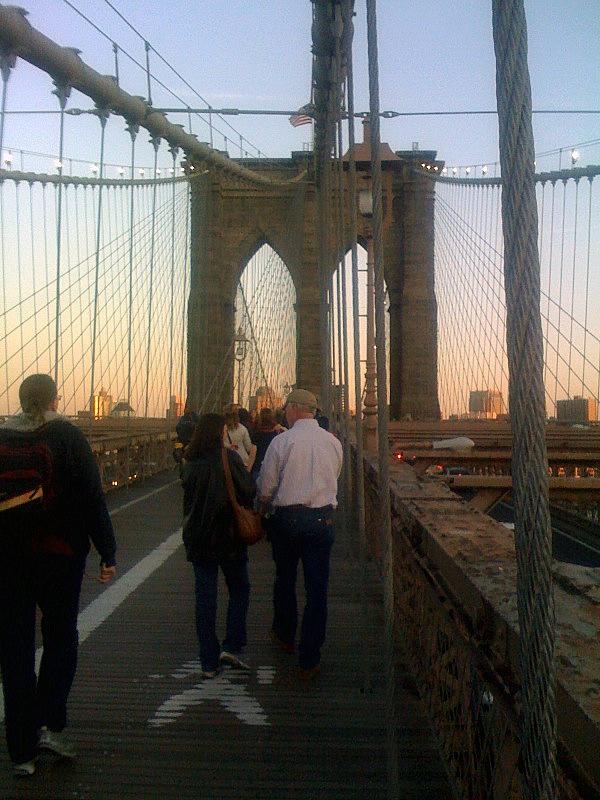Spring on the Brooklyn Bridge