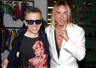 Simon Doonan and Iggy Pop Archive 1887