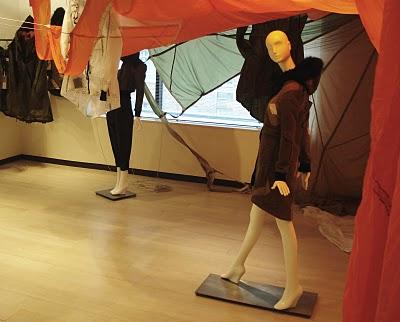 Christopher Raeburn Parachute Installation