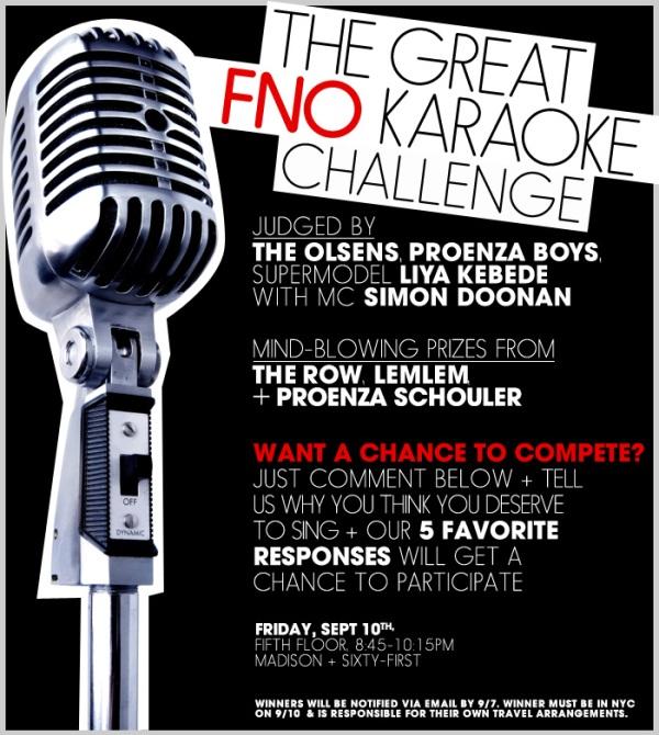 Barneys New York The Great FNO Karaoke Challenge