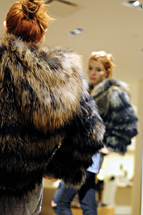Isabel Marant fur coat