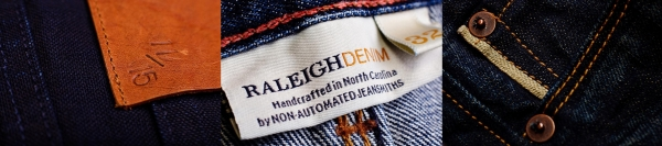 Raleigh Denim Labels