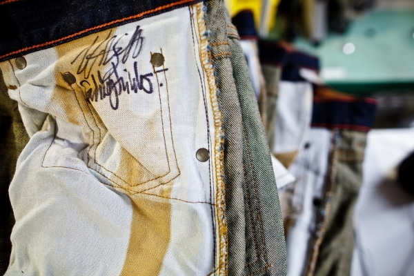 Signed denim Raleigh Denim